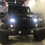 Custom Jeep Headlights