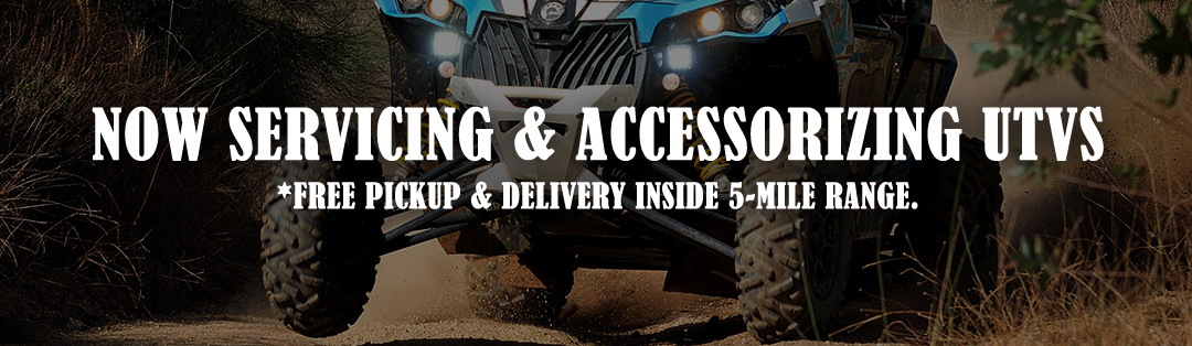 now servicing and accessorizing side by sides and UTVs